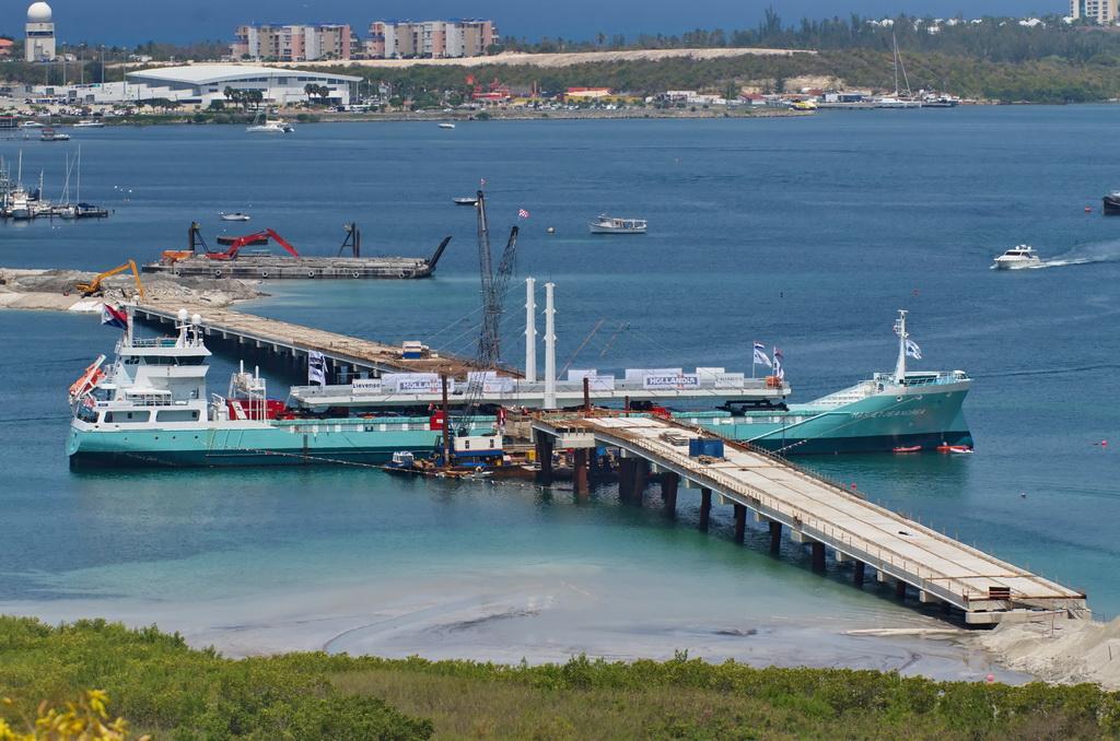 Bridge at St. Maarten