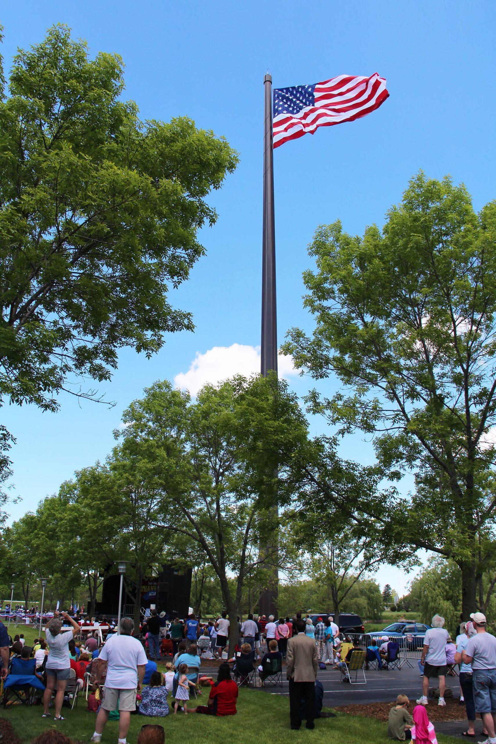 Flagpole – Wisconsin